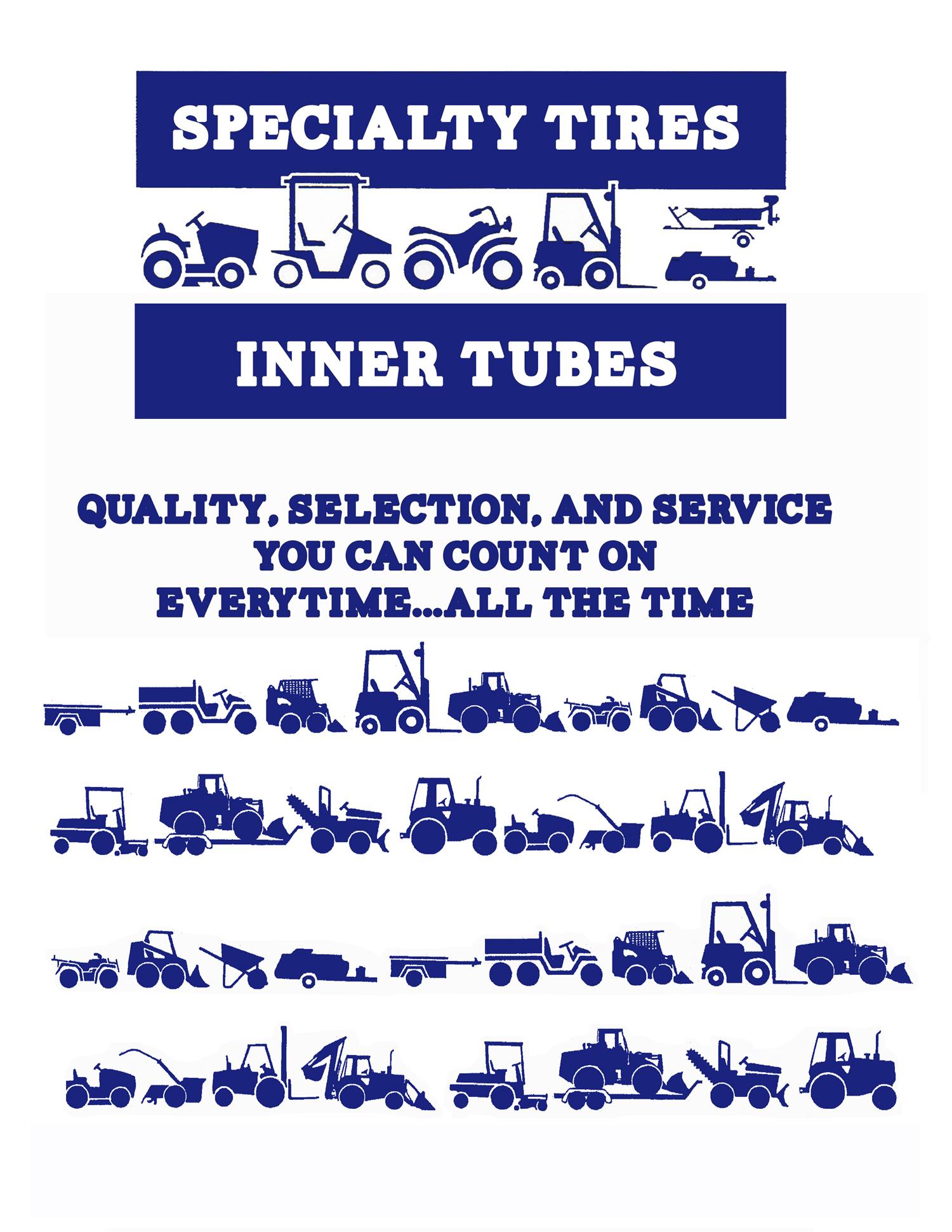 Tube Fitment Chart
